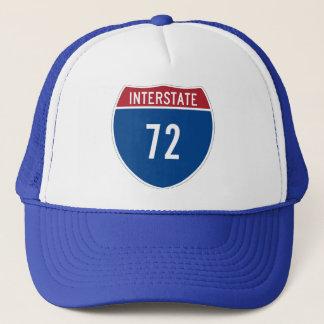 Zwischenstaatlicher Hut 72 Truckerkappe