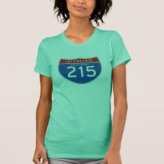 Zwischenstaatliches Zeichen 215 - Kalifornien T-Shirt