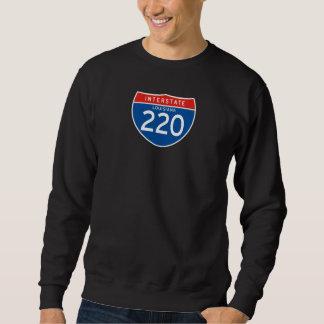 Zwischenstaatliches Zeichen 220 - Louisiana Sweatshirt