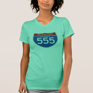 Zwischenstaatliches Zeichen 555 - Arkansas T-Shirt