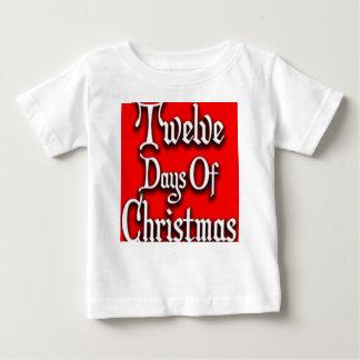 Zwölf Tage Weihnachten Baby T-shirt