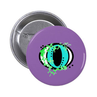 Zyklop-drittes Auge Runder Button 5,1 Cm