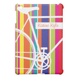 Zyklus-Entwurf mit Namen iPad Mini Hülle