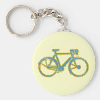 Zyklus/Radfahren/radfahrend Schlüsselanhänger