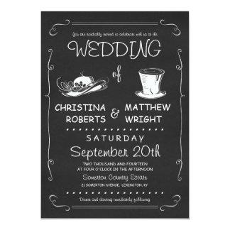 Zylinder-Hochzeits-Einladungs-Schablone 12,7 X 17,8 Cm Einladungskarte
