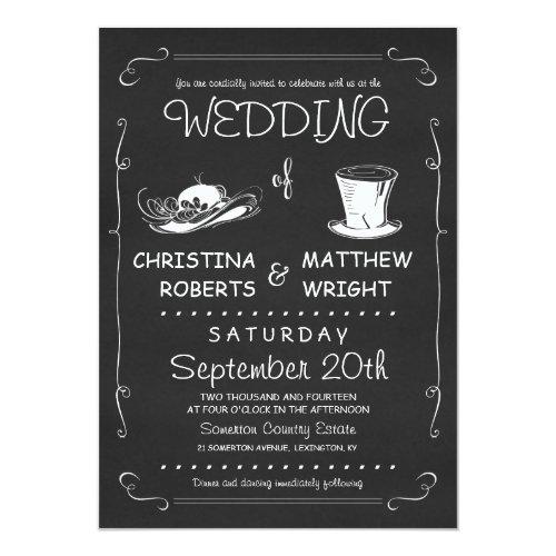 retro Einladungen zur Hochzeit | meine-Einladungskarten.de