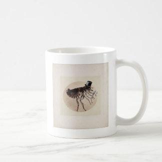 Zylinder-und Stock-Floh Kaffeetasse