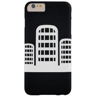 Zylinderförmige Gebäude-Ikone Barely There iPhone 6 Plus Hülle