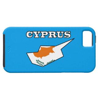Zypern-Flagge in der Karte Schutzhülle Fürs iPhone 5