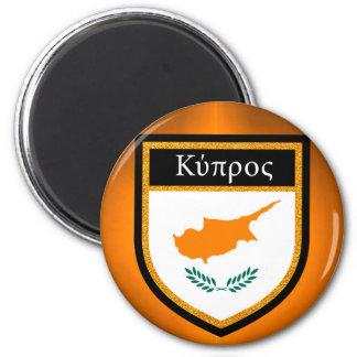 Zypern-Flagge Runder Magnet 5,1 Cm