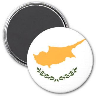 Zypern-Flagge Runder Magnet 7,6 Cm