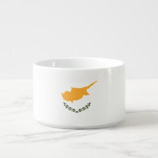Zypern-Flagge Schüssel