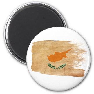 Zypern-Flaggen-Magneten Runder Magnet 5,7 Cm