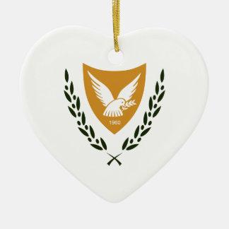 Zypern-Wappen Keramik Ornament