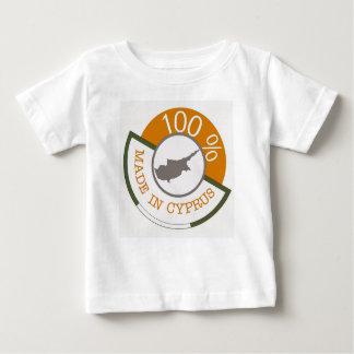 ZYPERNWappen 100% Baby T-shirt