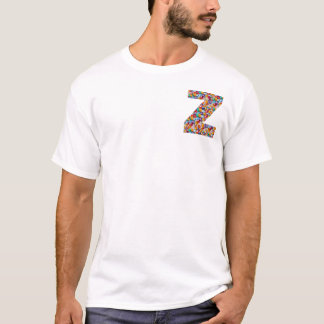 zzz ALPHABET-JUWEL-GLITZERN, Liebe, fiancer, T-Shirt